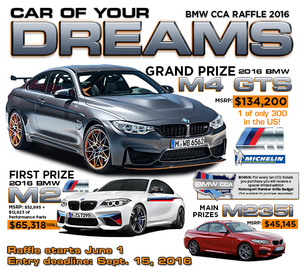 raffle bmw car club of america. Cars Review. Best American Auto & Cars Review