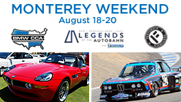 Register Now for Monterey Weekend 2017!