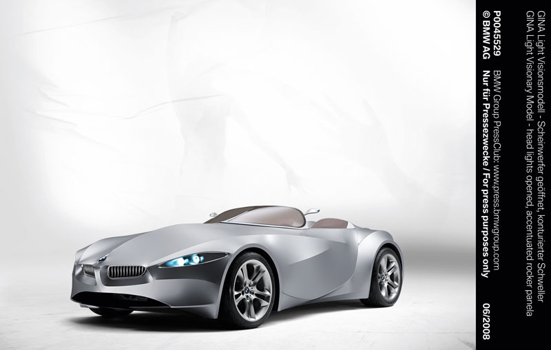 Bmw Gina Light Visionary Model In The Dream Cars Exhibition At High Museum Of Art Atlanta