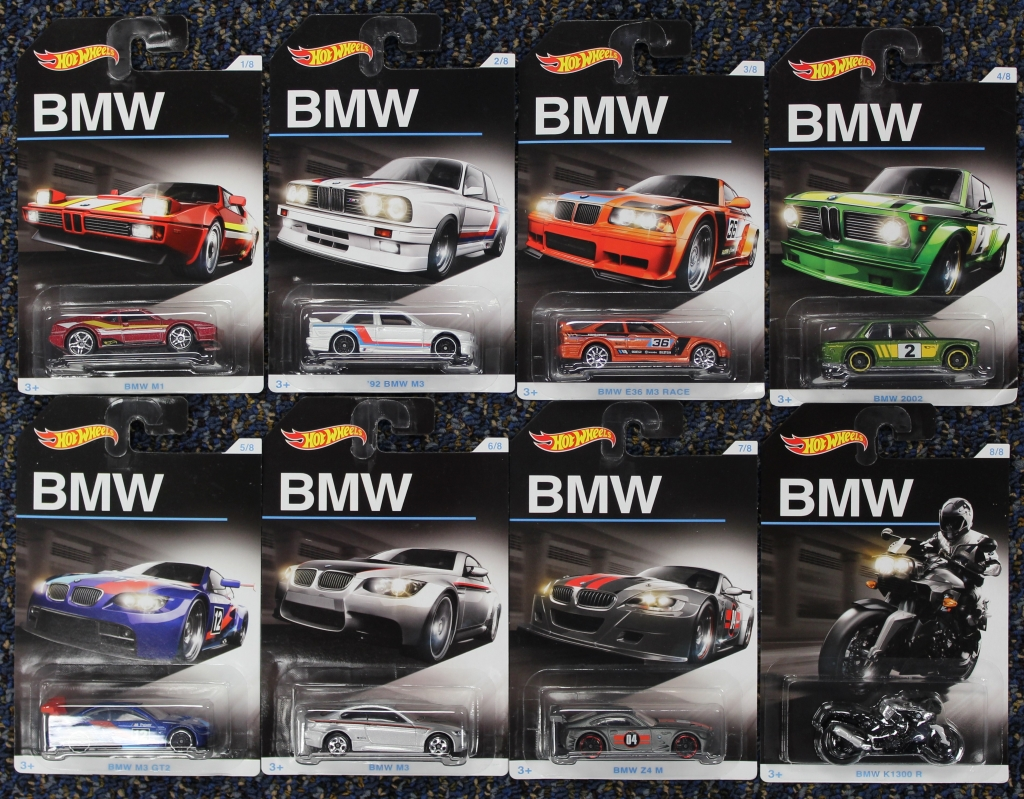 they 39 re here limited edition bmw 100 hot wheels sets. Black Bedroom Furniture Sets. Home Design Ideas