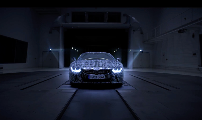 Video Bmw I Teases The I8 Roadster Bmw Car Club Of America