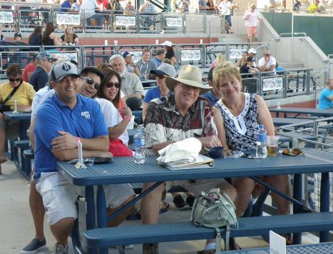 Take Me Out to the Ball Game at Reno Aces Ballpark
