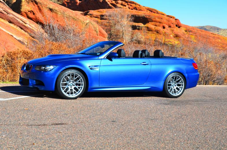Monte Carlo Blue M3 Convertible Bmw Car Club Of America