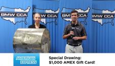 COYD Special Drawing #5: $1,000 AMEX Gift Card