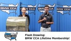 COYD Flash Drawing #4: BMW CCA Lifetime Membership