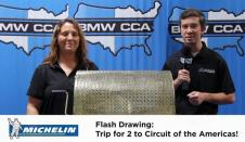 COYD Flash Drawing: Trip For Two To COTA, Courtesy Of Michelin